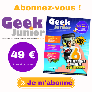 Abonnement Geek Junior