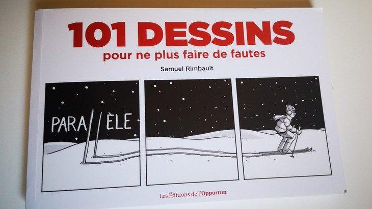"""Orthographe : """"101 dessins pour ne plus faire de fautes"""""""