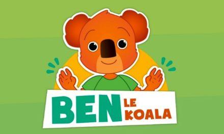 Ben le Koala et les bons gestes barrières, une application pour les 2-6 ans