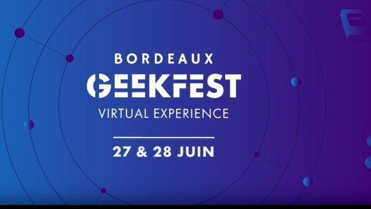 Bordeaux Geekfest Virtual Experience : toute la pop culture depuis chez toi
