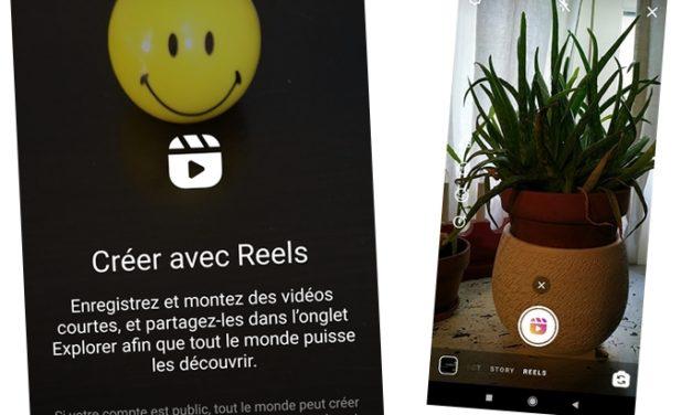 Avec Reels, Instagram s'attaque à TikTok