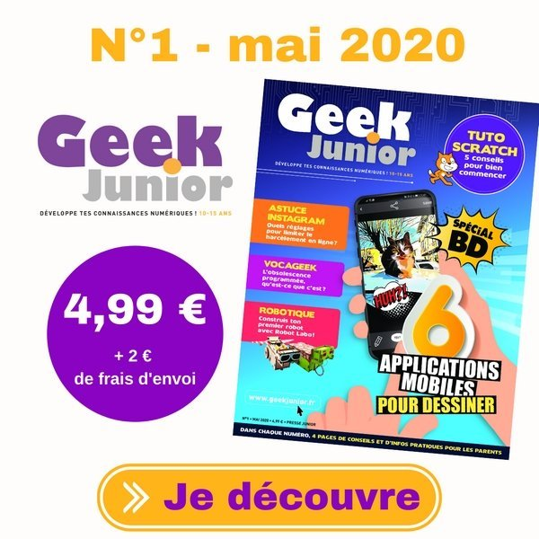 Geek Junior n°1 - mai 2020