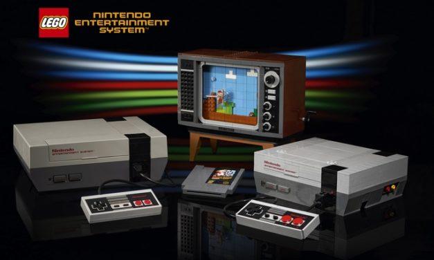 Geekerie : Lego dévoile un nouveau kit avec une console NES