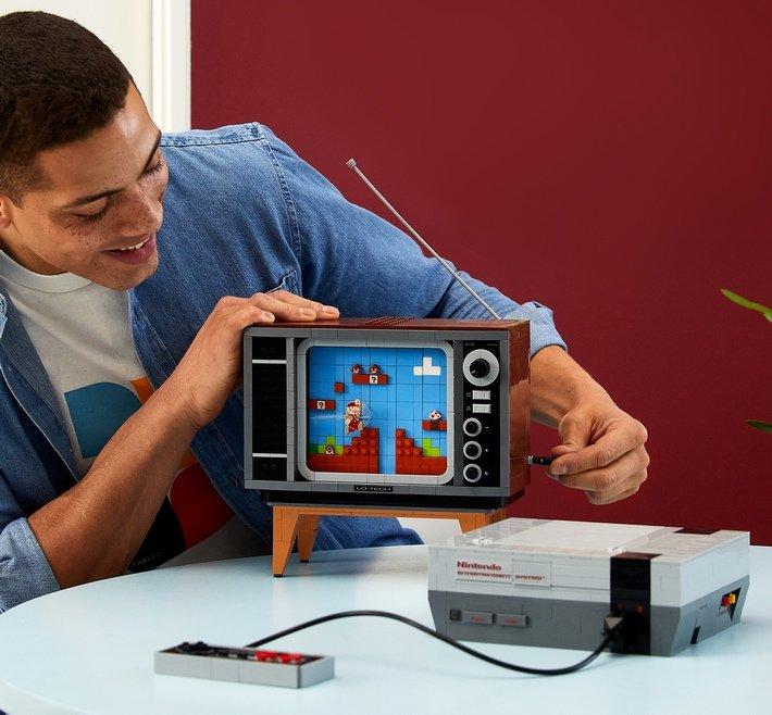 Lego Nintendo NES kit