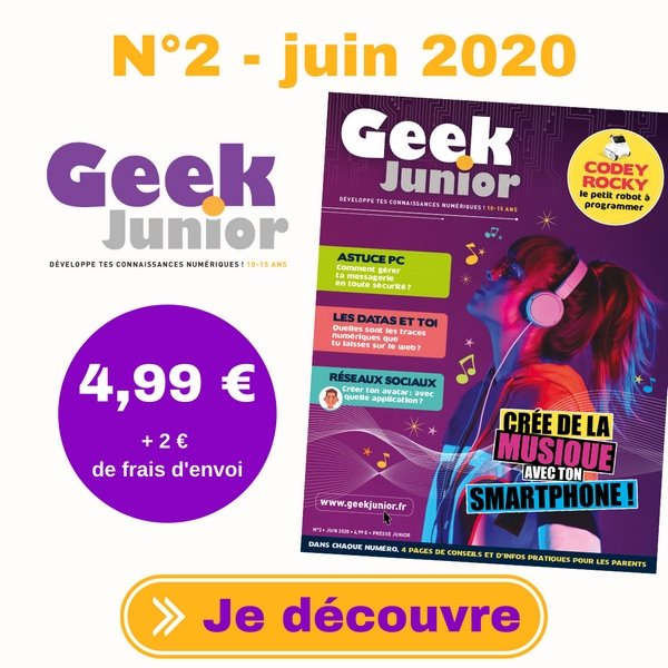 Geek Junior n°2 - juin 2020
