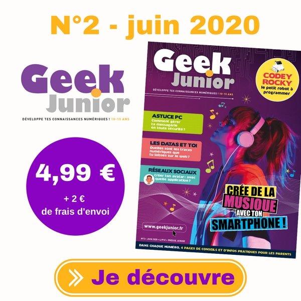 Geek Junior n°2 - juin 2020