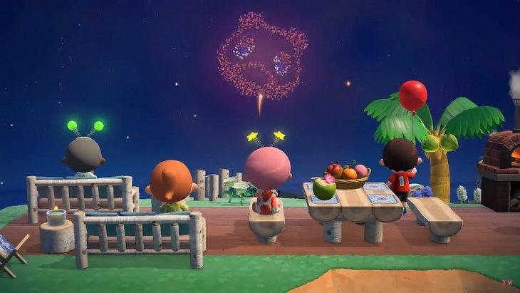 Animal Crossing: New Horizons : c'est un feu d'artifice pour le mois d'août !