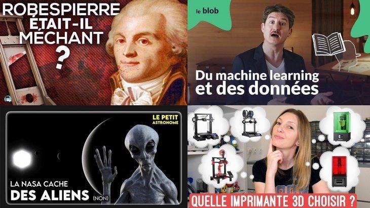 Apprendre avec YouTube #184 : Nota Bene, E-penser, Le Blob, Heliox, Le petit astronome…