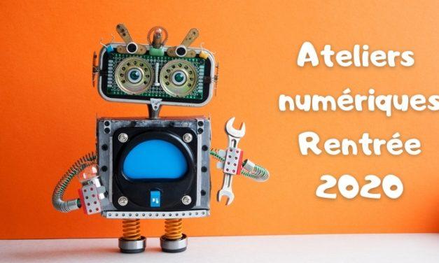 Quels ateliers numériques pour la rentrée (code, robotique, 3D, jeux vidéo…)