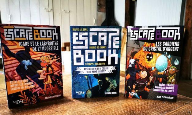 Lecture de rentrée #3 : trois «escape books» pour la rentrée publiés chez 404 Éditions