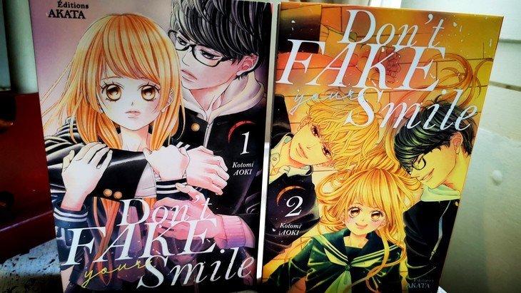 Lecture de rentrée #4 : Don't fake your smile, un formidable manga à lire pour les ados