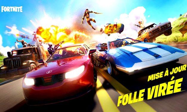 Les voitures débarquent dans Fortnite !