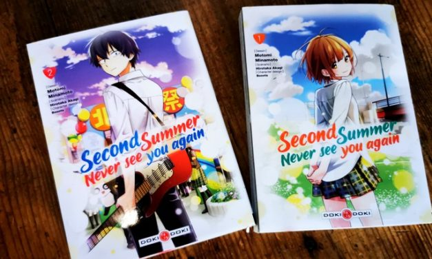 Lecture d'été #9 : «Second summer, never see you again» (Vol. 1 et 2), une romance surnaturelle