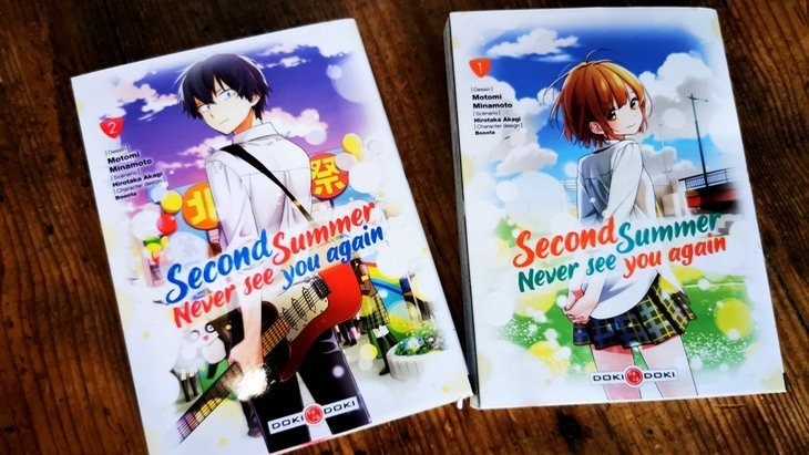 "Lecture d'été #9 : ""Second summer, never see you again"" (Vol. 1 et 2), une romance surnaturelle"