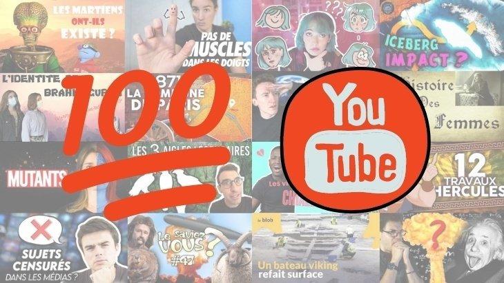 100 chaînes YouTube pour apprendre et réviser tes cours (collège et lycée)
