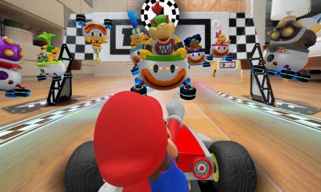 Mario Kart Live Home Circuit : un nouveau jeu en réalité augmentée !