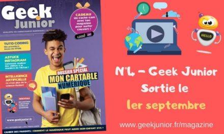 Geek Junior sort son magazine de rentrée (n°4) !