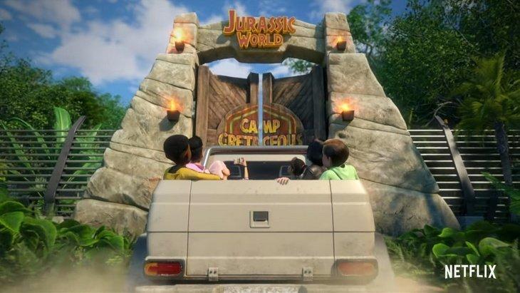 """""""Jurassic World : La Colo du Crétacé"""", la série animée Netflix se dévoile"""