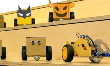 PlayfulKit, un robot DIY, éducatif et 100% recyclable à soutenir sur KissKissBankBank