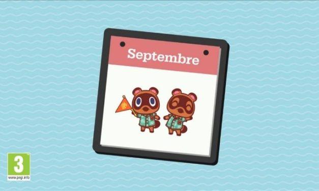 Septembre dans Animal Crossing: New Horizons : les nouveautés !