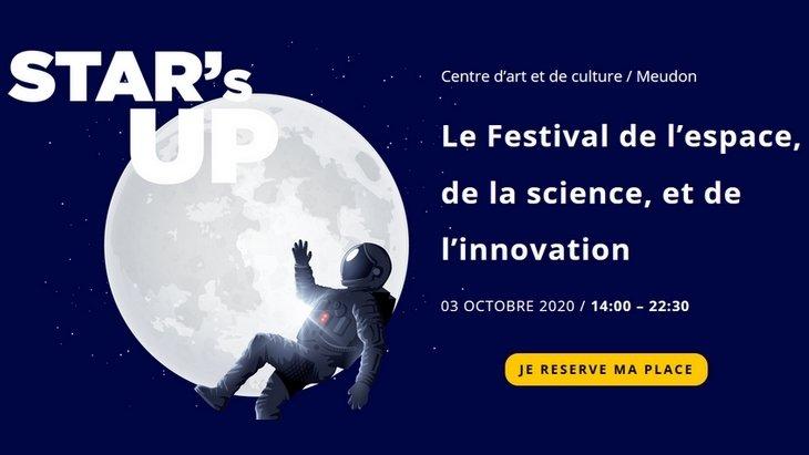 Star's Up, le Festival de l'espace, de la science, et de l'innovation  le 3 octobre