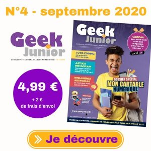 N°4 de Geek Junior Magazine