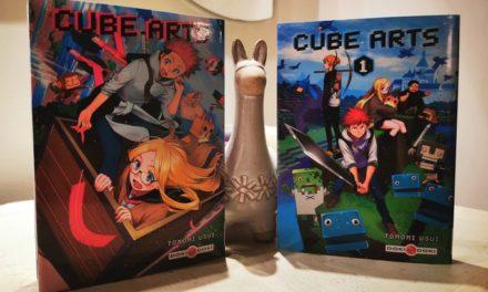 Cube Arts, un manga dans un univers à la Minecraft