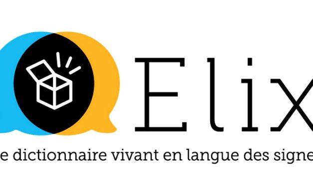 Elix, le dictionnaire de Français en Langue des Signes Française (LSF), lance son application mobile