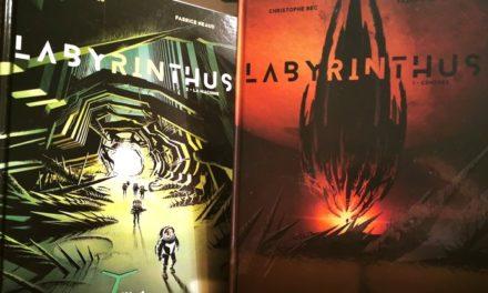 Labyrinthus (T1-T2), une BD de science-fiction sur fond d'écologie