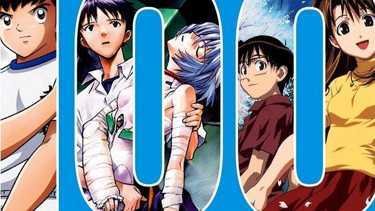 """""""100 séries d'animation japonaises"""" : un beau-livre pour les fans d'anime"""