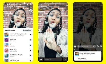 Avec Sounds, Snapchat se lance dans les vidéos musicales à la Tiktok