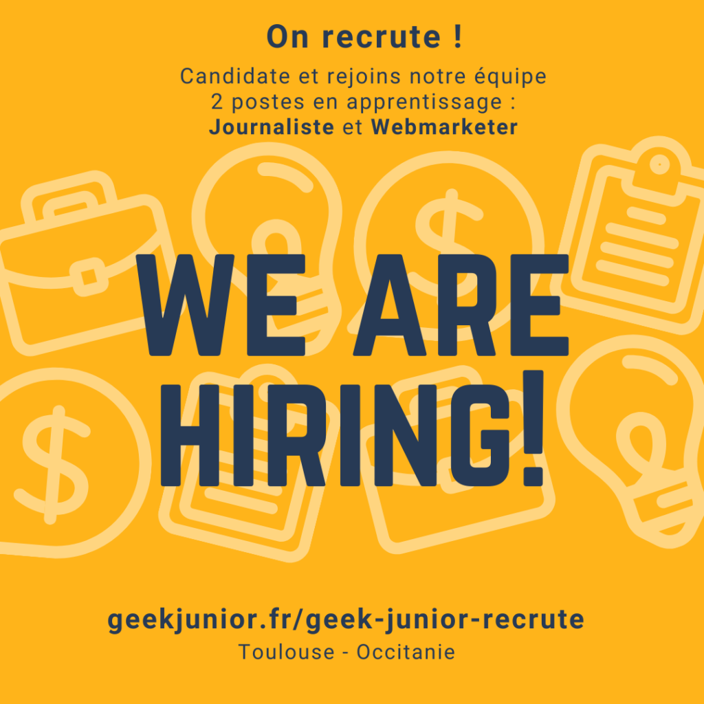 Geek Junior Recrute