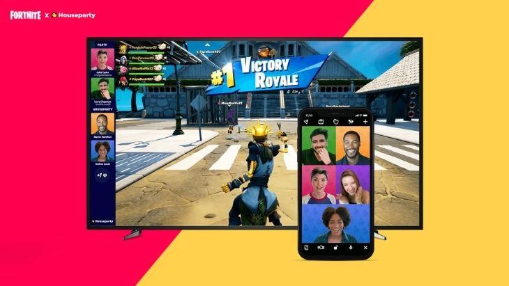 Les appels vidéo arrivent dans Fortnite avec Houseparty