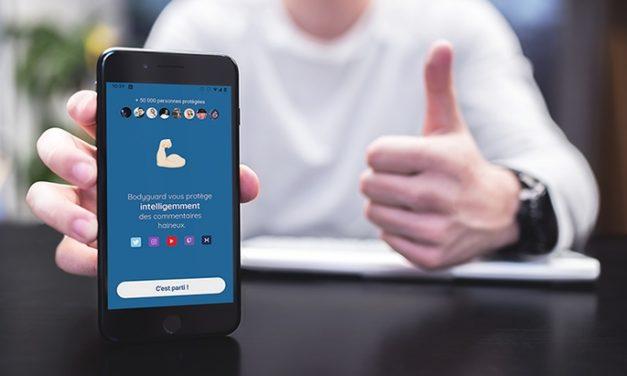 Bodyguard, une application pour se protéger du cyberharcèlement