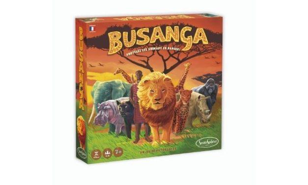 BUSANGA : à toi de sauver les animaux en famille !