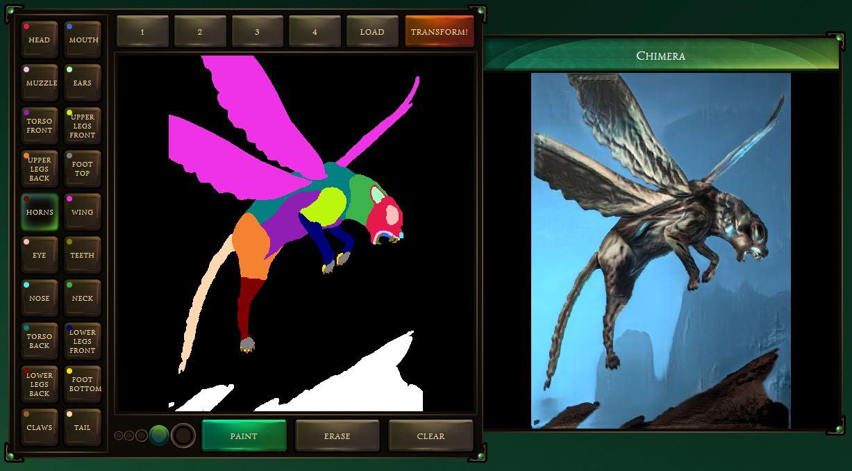 chimera painter logiciel google intelligence artificielle