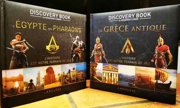 Beaux-livres : «Assassin's Creed Discovery Book»sur l'Égypte des Pharaons et la Grèce antique