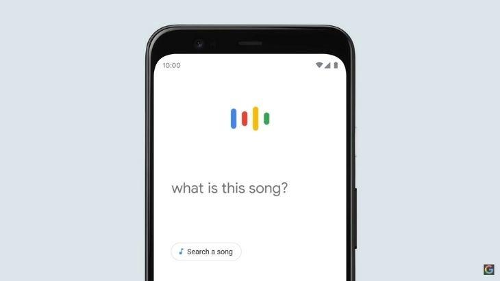 Google Search peut trouver les chansons que tu fredonnes