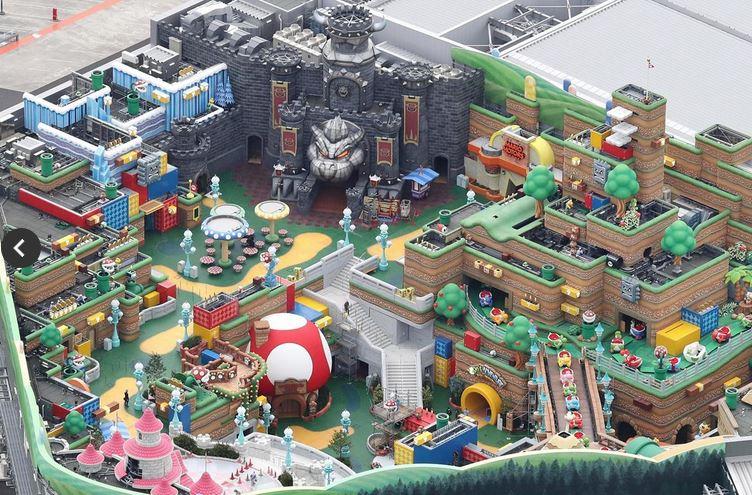 super nintendo world parc nintendo universal studios