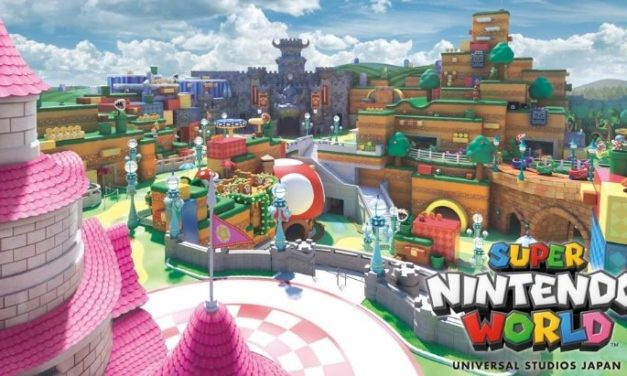 Super Nintendo World, la construction du parc d'attraction Nintendo est bientôt terminée