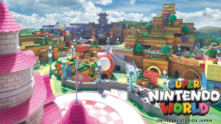 Super Nintendo World, la construction du parc d'attraction Nintendo est bientôt terminée