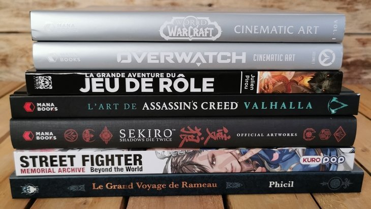 Sélection de Noël : 10 beaux-livres pour les geeks !