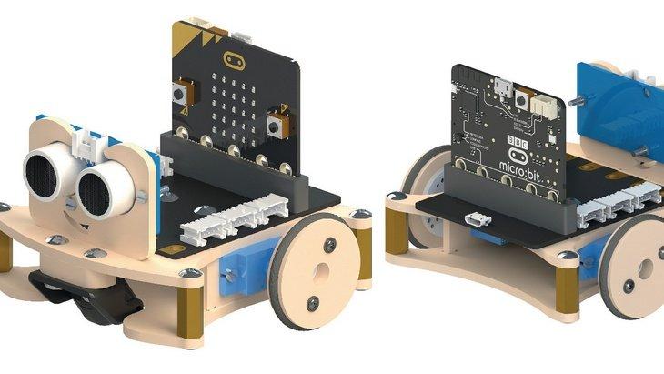 Kitro:bot, un kit robotique complet pour les petits budgets