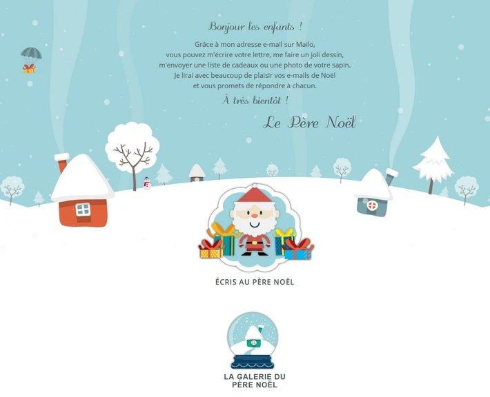 Mailo - lettre au Père Noël 2020