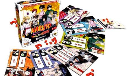 Naruto Ninja Arena : un jeu de plateau pour devenir le meilleur ninja de Konoha !