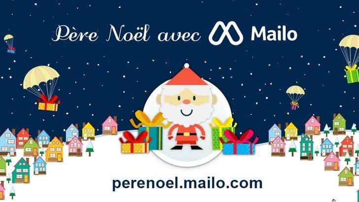 Et si la lettre au Père Noël était numérique (avec Mailo) ?