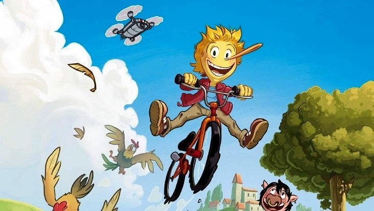Titouan : La vie est belle (T1), une bande dessinée positive pour bien commencer 2021 !