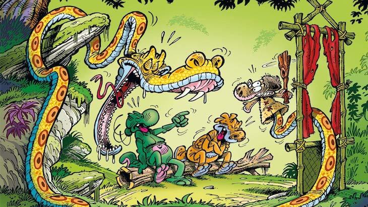 Les nouvelles aventures de Nabuchodinosaure (BD)