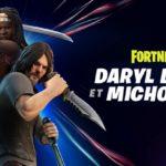 The Walking Dead x Fortnite : Daryl Dixon et Michonne arrivent sur l'île !