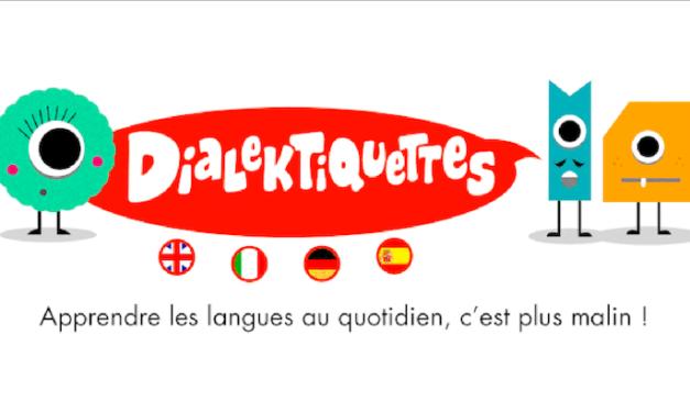 Dialektiquettes : apprends une langue en t'amusant avec des étiquettes !